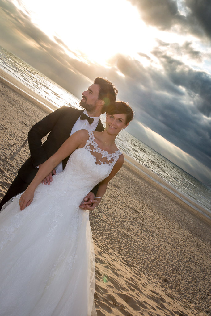 After Wedding am Strand